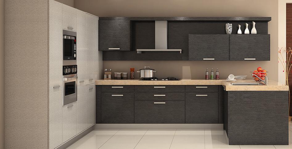 Modular kitchen - L shaped indian modular kitchen designs ...